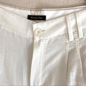 Massimo Dutti Pants & Jumpsuits - NWOT Massimo Dutti Linen Trouser in ivory